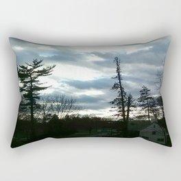 View from Dorm Rectangular Pillow