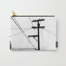 Power Lines at the bluff Carry-All Pouch