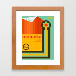 motueka single hop Framed Art Print