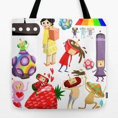 Katamari Characters Tote Bag