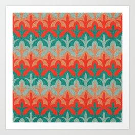 Citrous Flora Art Print