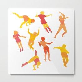 Warm dance Metal Print