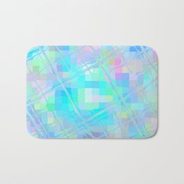 Re-Created Twisted SQ I by Robert S. Lee Bath Mat