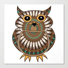 Owl the Messenger Canvas Print