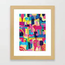 Disorderly Framed Art Print