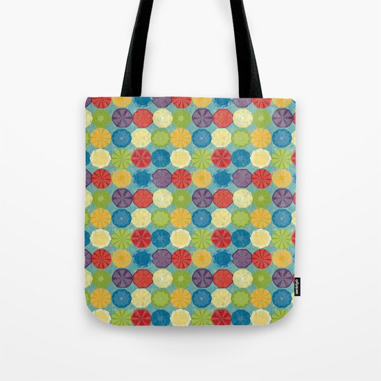 round and colour 6 Tote Bag