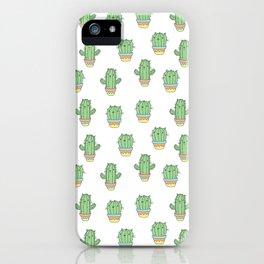 Cat-cus iPhone Case