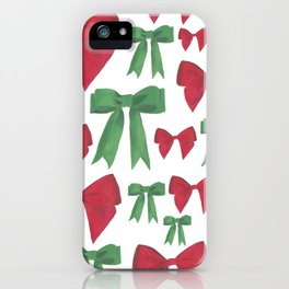 Festive Bows iPhone Case
