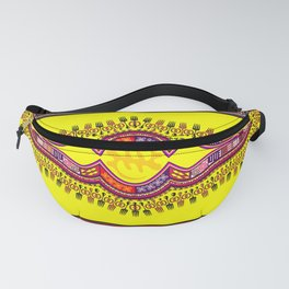 African Patterns Fanny Pack