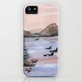 Let's find a place to get lost iPhone Case