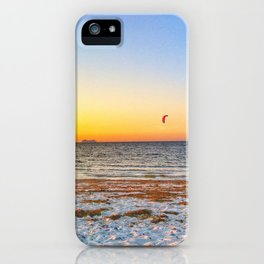 Big ships sailing on the ocean iPhone Case