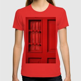 The Customary Red Door, But... T-shirt