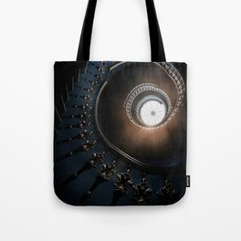 Mysterious spiral staircase Tote Bag