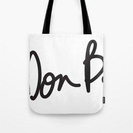 Don B. Tote Bag