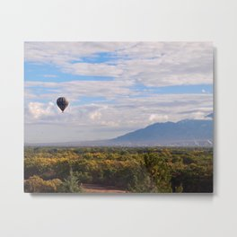 Balloon Fiesta Over the Rio Grande Metal Print