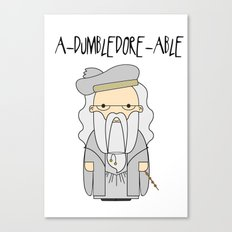 A-DUMBLEDORE-ABLE.  Canvas Print