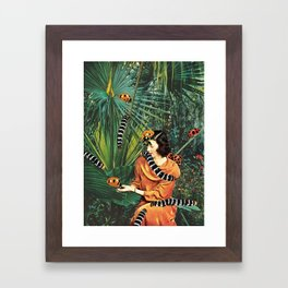 NATIVE SPECIES Framed Art Print