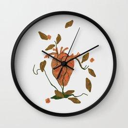 Find My Heart Wall Clock