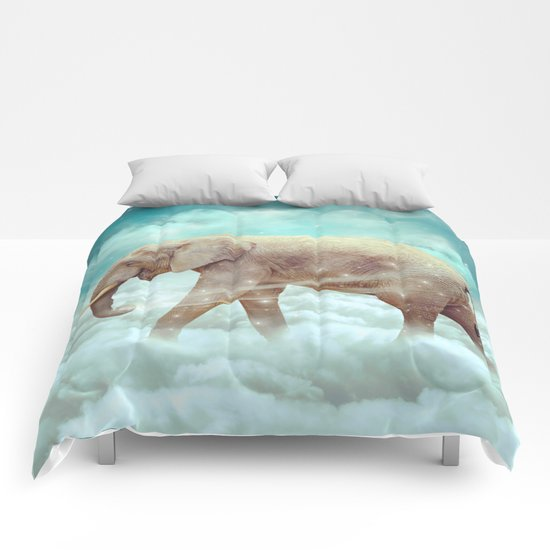 Walk With the Dreamers (Elephant in the Clouds) Comforters