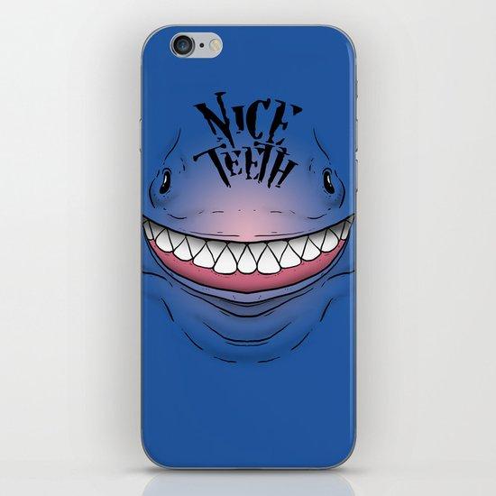 Nice Teeth iPhone & iPod Skin
