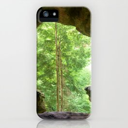 Cave View iPhone Case
