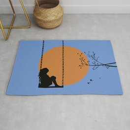 Dreaming like a child Rug