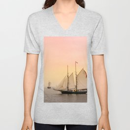 Morning of Glory 2 - Sail Boston 2017 Unisex V-Neck