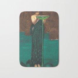 John William Waterhouse - Circe Invidiosa Bath Mat