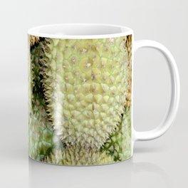 Durian Fruits background Coffee Mug
