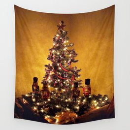 Olde Time Yule Tree Wall Tapestry