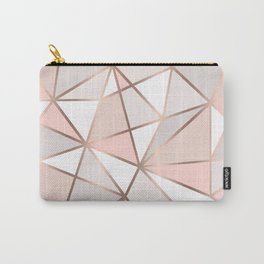 Rose Gold Perseverance Carry-All Pouch