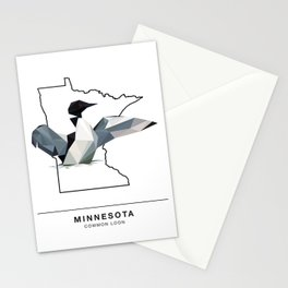 Minnesota – Common Loon Stationery Cards