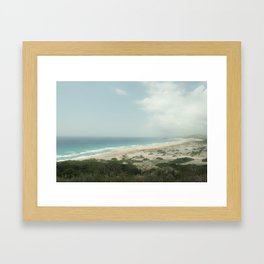 BEACH DAY 40 Framed Art Print