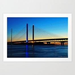 Indian River Inlet Bridge Art Print