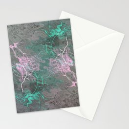 Silver Water Stationery Cards