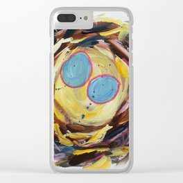 The Mottled Owl Nest Clear iPhone Case