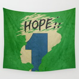 Hope!! (time machine ) Wall Tapestry