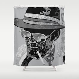 Dr Gonzo Shower Curtain