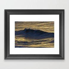 Waves III Framed Art Print