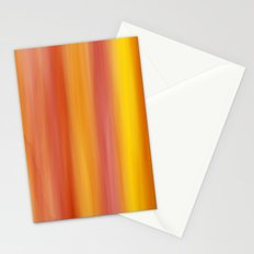 Texture Orange Yellow Stationery Cards