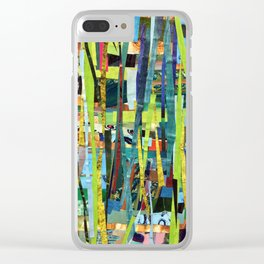 Woven Nature Clear iPhone Case