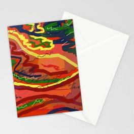 Night Signals 4 Stationery Cards