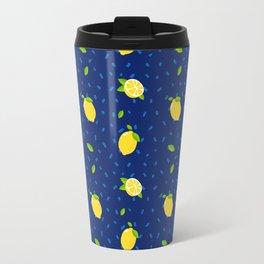 Raining Lemons Travel Mug