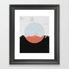 Landscape Abstract Framed Art Print