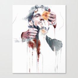 La Vedova Bianca Canvas Print