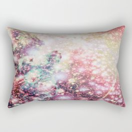 Pastel Sparkle Galaxy Africa Rectangular Pillow