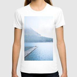 351. Quiet Winter on Minnewanka, Banff, Canada T-shirt