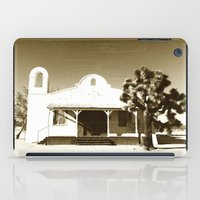 quentin tarantino iPad Cases featuring Kill Bill Church Quentin Tarantino by Chris Bergeron
