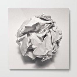 White Trash Metal Print