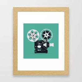 Movie Day Framed Art Print